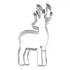Reindeer 10.5cm with antlers cookie cutter