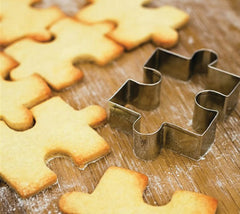 Jigsaw Puzzle Cookies