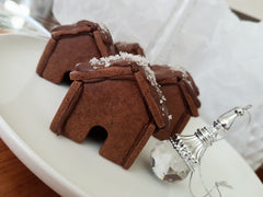 Salted Chocolate Mini Gingerbread House Recipe