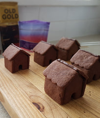 Mini Chocolate Houses
