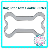 Dog Bone 6cm Cookie Cutter from Cookie Cutter Shop Australia