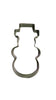 Snowman 9cm Cookie Cutter from Cookie Cutter Shop Australia
