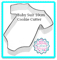 Baby Suit 10cm Cookie Cutter from Cookie Cutter Shop Australia