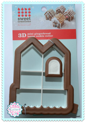 3D Mini Gingerbread House Cookie Cutter from Sweet Creations