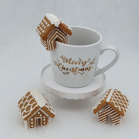 Mini 3D Gingerbread House Hug Mug Cookie Cutter | Cookie Cutter Shop Australia