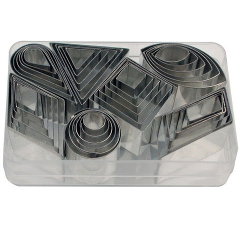 Garnishing Set of 42 Cookie Cutters-Cookie Cutter Shop Australia