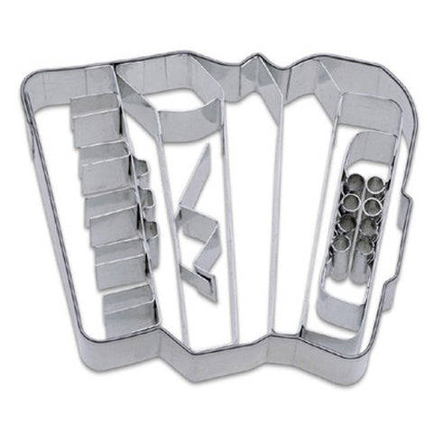 Accordion 8cm Cookie Cutter-Cookie Cutter Shop Australia