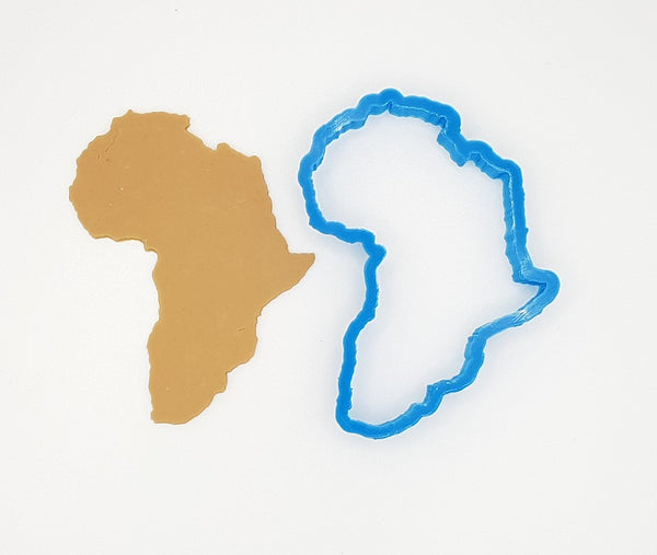 Africa Map 10.5cm Cookie Cutter-Cookie Cutter Shop Australia
