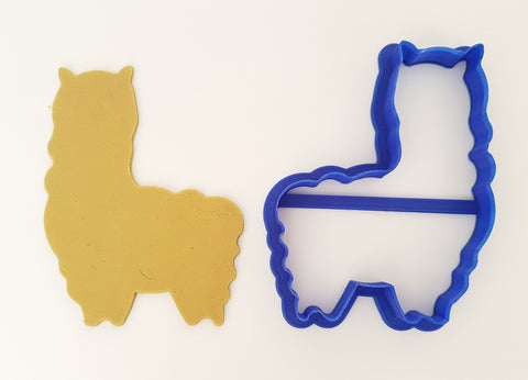 Alpaca 10cm Cookie Cutter-Cookie Cutter Shop Australia