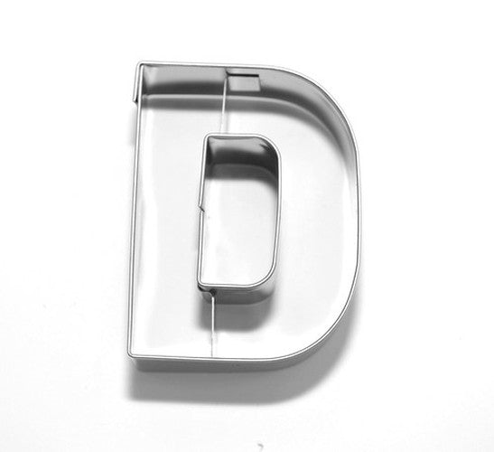 Letter D 6.5 cm Cookie Cutter Stainless Steel-Cookie Cutter Shop Australia
