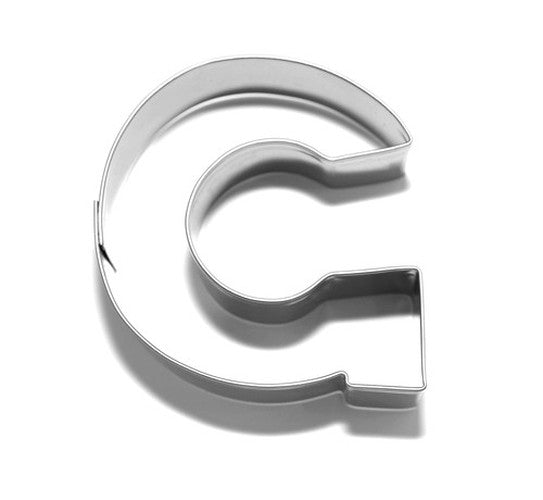 Letter G 6.5 cm Cookie Cutter Stainless Steel-Cookie Cutter Shop Australia