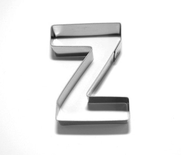 Letter Z 6.5 cm Cookie Cutter Stainless Steel-Cookie Cutter Shop Australia