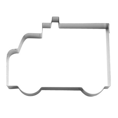 Ambulance 10cm Cookie Cutter-Cookie Cutter Shop Australia