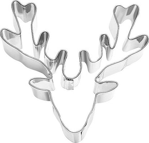 Deer Antlers 8cm Cookie Cutter-Cookie Cutter Shop Australia