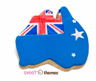 Australia Map Cookie Cutter 9.5 cm