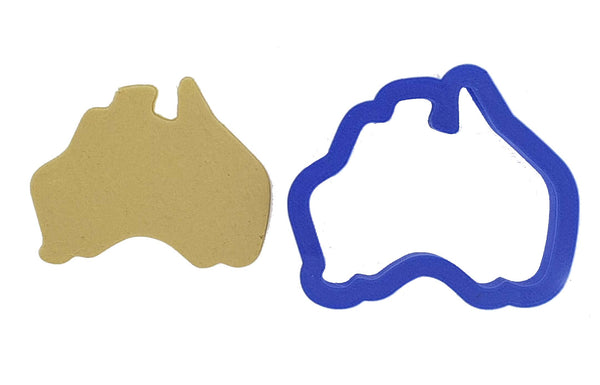 Australia Map Cookie Cutter 6cm | Cookie Cutter Shop Australia