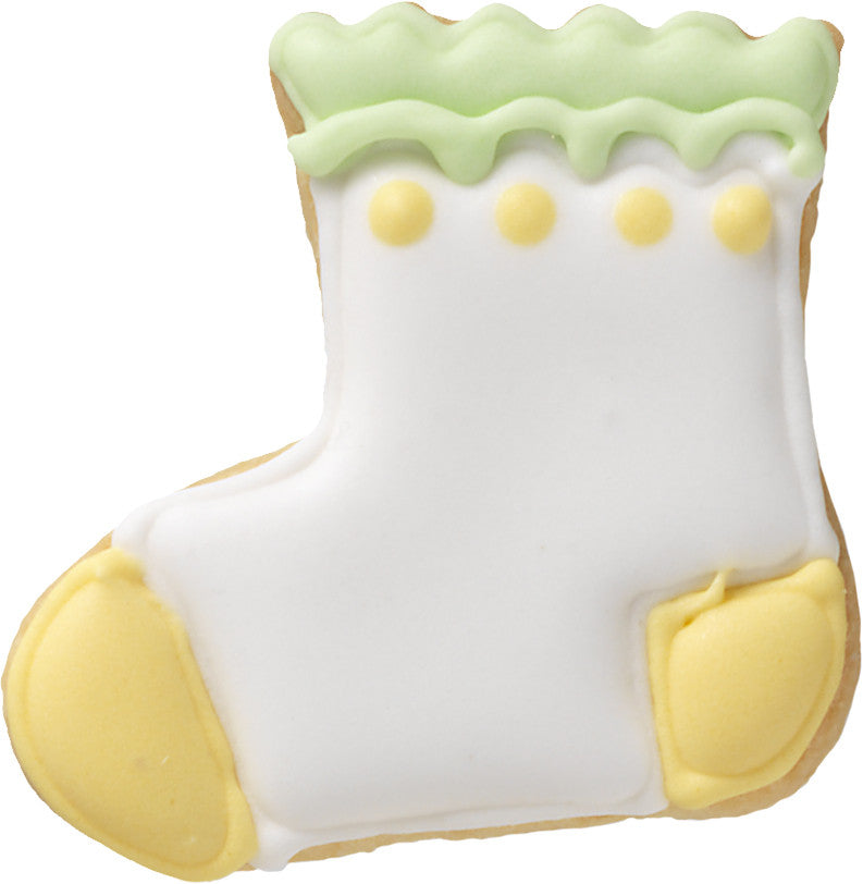 Baby Bootie 6cm Cookie Cutter-Cookie Cutter Shop Australia