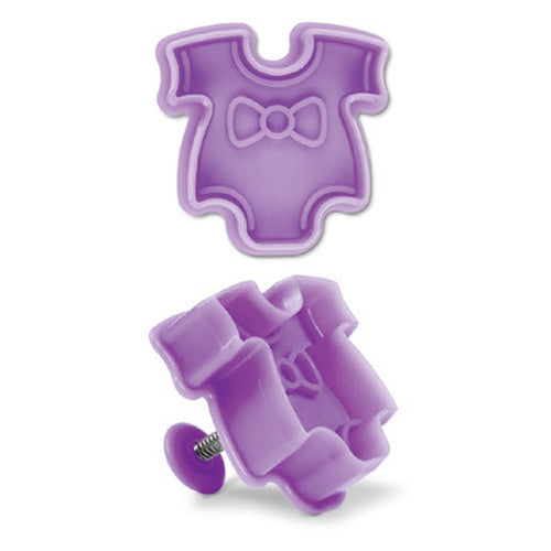 Baby Clothes Plastic Embossed 4.5cm Cookie Cutter-Cookie Cutter Shop Australia