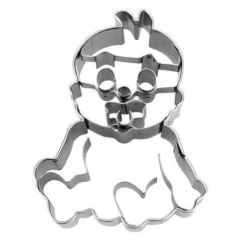 Baby Cookie Cutter With Embossed Details-Cookie Cutter Shop Australia