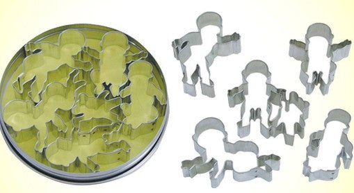 Baby Cookie Cutter Set 5 Pieces | Cookie Cutter Shop Australia