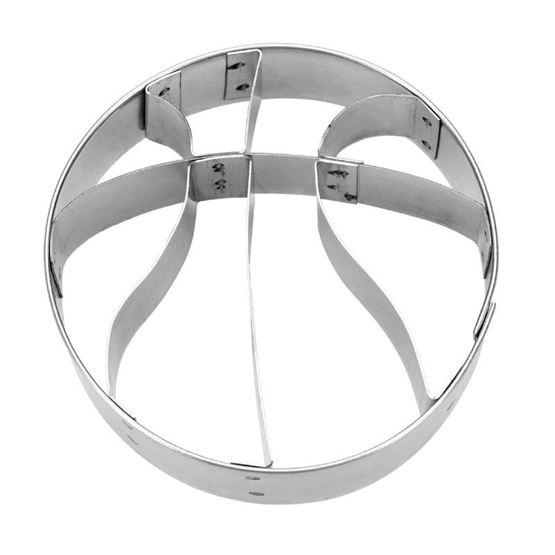 Basketball With Internal Detailing 6cm Cookie Cutter | Cookie Cutter Shop Australia