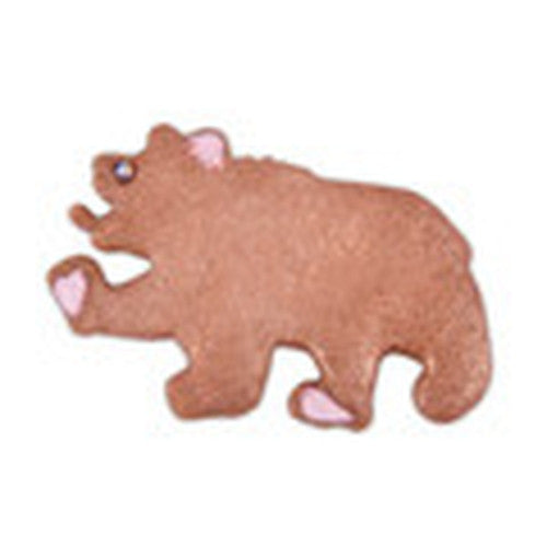 Bear with Embossed Detail 7cm Cookie Cutter-Cookie Cutter Shop Australia
