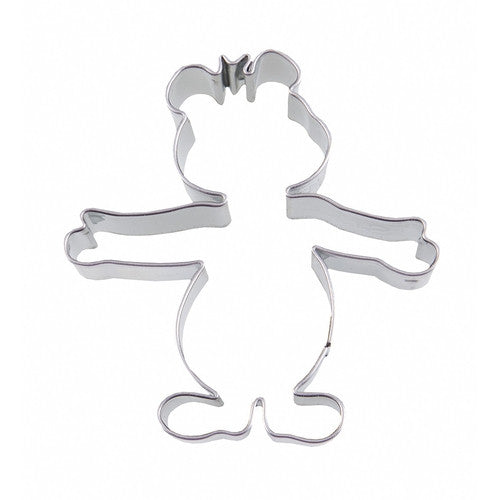 Almond Teddy Bear 6cm Cookie Cutter-Cookie Cutter Shop Australia