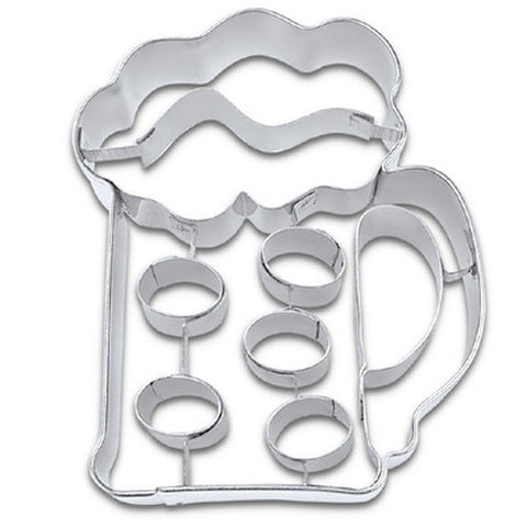 Beer Mug Cookie Cutter-Cookie Cutter Shop Australia