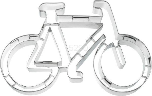 Bicycle 11cm Cookie Cutter With Embossed Details-Cookie Cutter Shop Australia