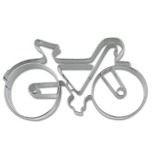 Bicycle with Embossed Detail Cookie Cutter-Cookie Cutter Shop Australia