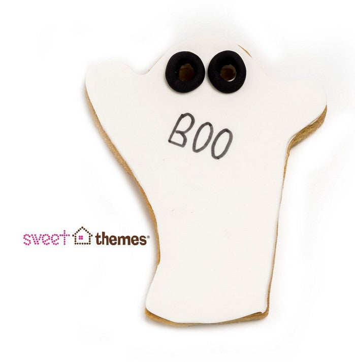 Ghost Cookie Cutter with Internal Eye Detail 11cm