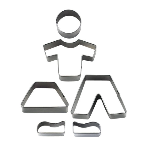 Boy and Girl Set of 6 Cookie Cutters-Cookie Cutter Shop Australia