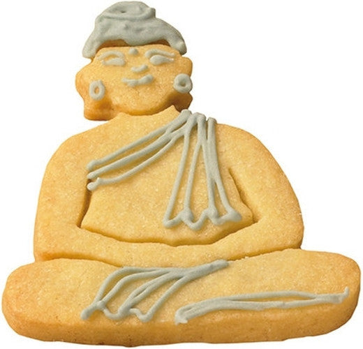 Buddha 7cm Cookie Cutter-Cookie Cutter Shop Australia