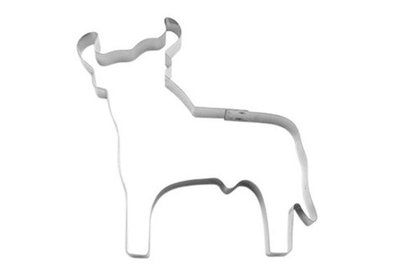 Bull Large 15cm Cookie Cutter-Cookie Cutter Shop Australia