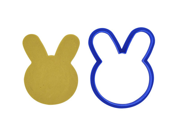 Bunny Face 8cm Cookie Cutter-Cookie Cutter Shop Australia