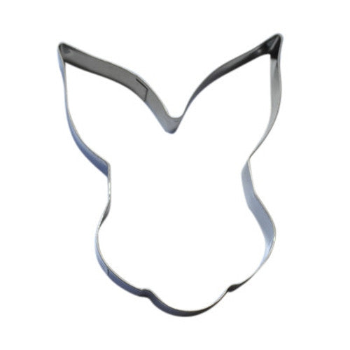 Rabbit Face 9cm Cookie Cutter-Cookie Cutter Shop Australia