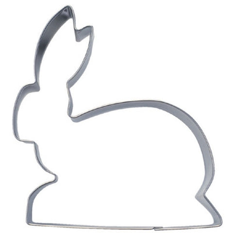 Bunny lying 11 cm Cookie Cutter-Cookie Cutter Shop Australia