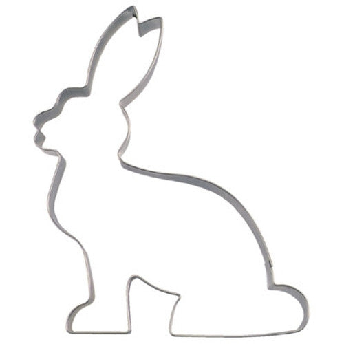 Bunny sitting 13 cm Cookie Cutter-Cookie Cutter Shop Australia