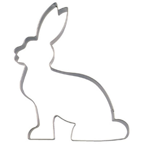 Bunny sitting 19cm Cookie Cutter-Cookie Cutter Shop Australia