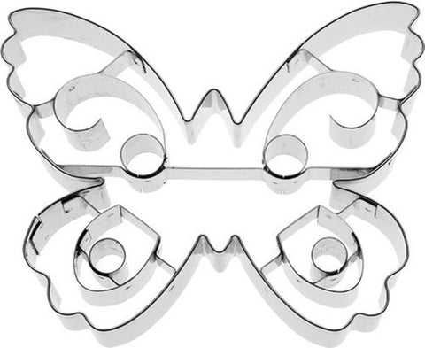 Butterfly With Internal Detail 10cm Cookie Cutter-Cookie Cutter Shop Australia