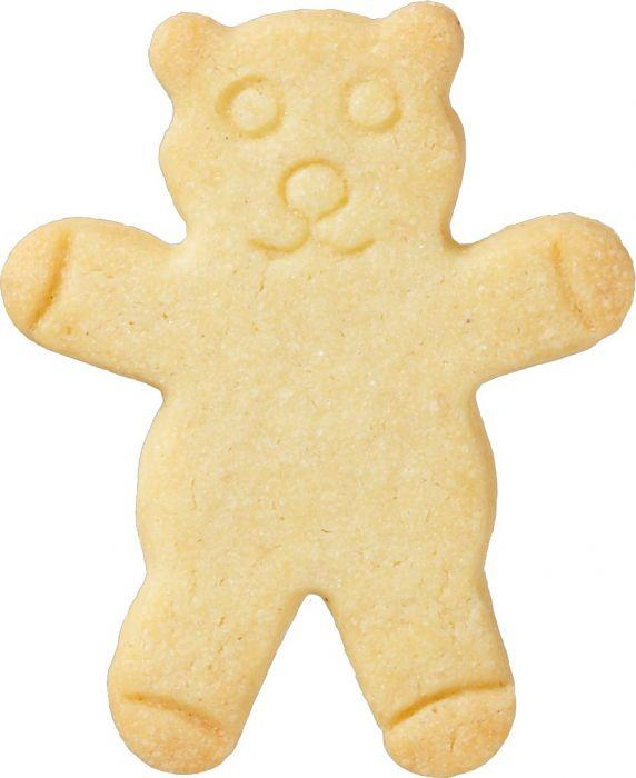 Teddy Bear With Internal Detail 6.5cm Cookie Cutter