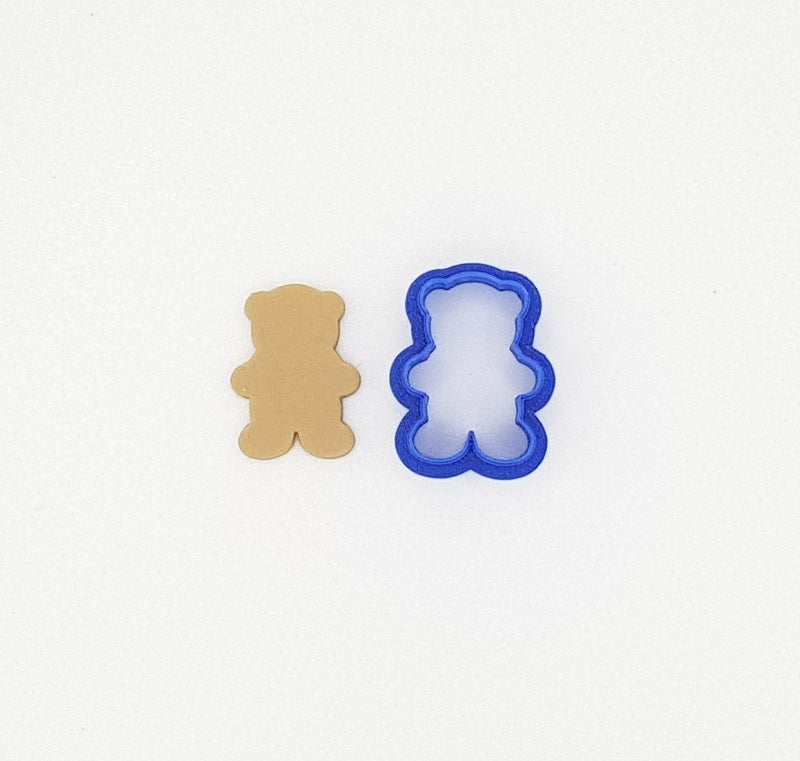 Extra Mini Teddy Bear 3cm Cookie Cutter-Cookie Cutter Shop Australia