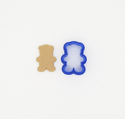 Teddy Bear Cookie Cutter 3cm | Cookie Cutter Shop Australia
