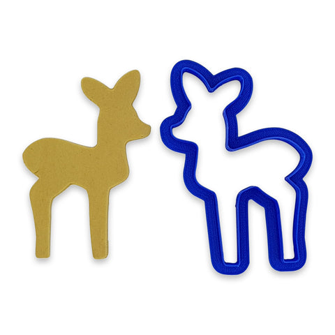Deer 10cm Cookie Cutter-Cookie Cutter Shop Australia