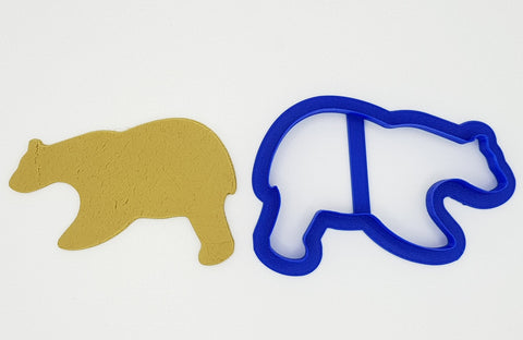 Grizzly Bear 11cm Cookie Cutter