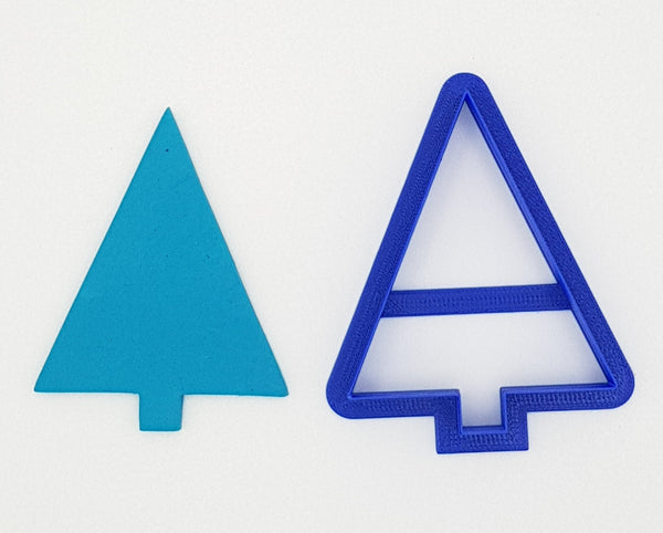 Triangle Christmas Tree 8cm Cookie Cutter