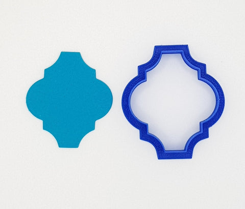 Moroccan Plaque 1 Cookie Cutter 6, 8 or 10cm