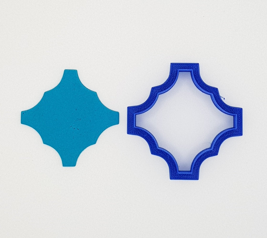 Moroccan Plaque 2 Cookie Cutter  6, 8 or 10cm