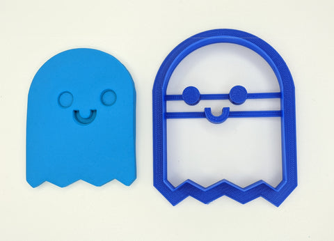 Ghost Cookie Cutter with Embossed Face 8.5cm | Cookie Cutter Shop Australia