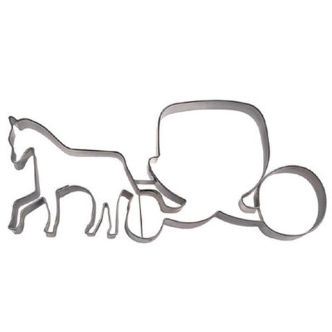 Carriage with Horse 12.5cm Cookie Cutter-Cookie Cutter Shop Australia